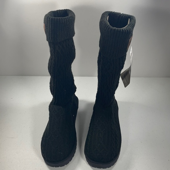 Muk Luks Cable Knit Boots